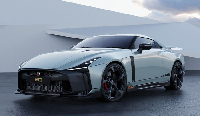 Nissan GT-R50 by Italdesign production rendering Mint 1.jpg