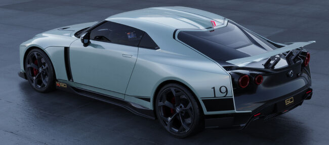 Nissan GT-R50 by Italdesign production rendering Mint2.jpg